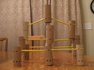 Vyrob si stavebnice z role od toaletního papíru