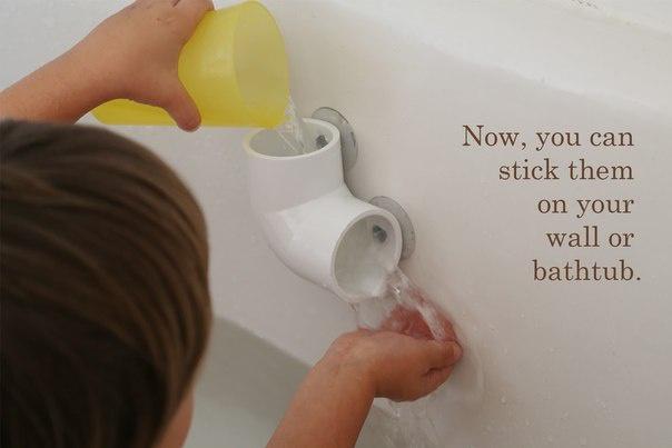 Vytvořte si sami hračku do vany.
