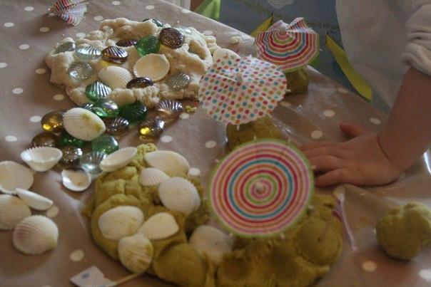 Několik málo nápadů jak vyvíjet děti za pomoci těsta